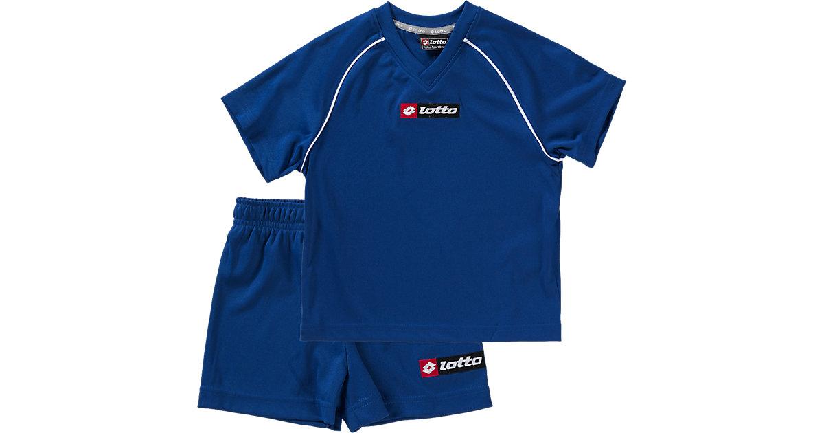 Fußball-Set: T-Shirt+Shorts navy Gr. 164/176 Jungen Kinder