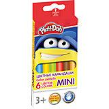 "Цветные карандаши ""Mini"" 6 цветов, Play-Doh"