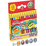 "Цветные карандаши ""Mini"" 12 цветов, Play-Doh"