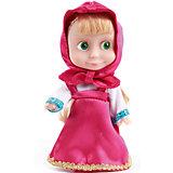 """Кукла Маша,15 см, со звуком, """"Маша и Медведь"""", Карапуз"""