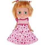 """Кукла Маша,15 см, со звуком, """"Маша и Медведь"""", на блистере, Карапуз"""