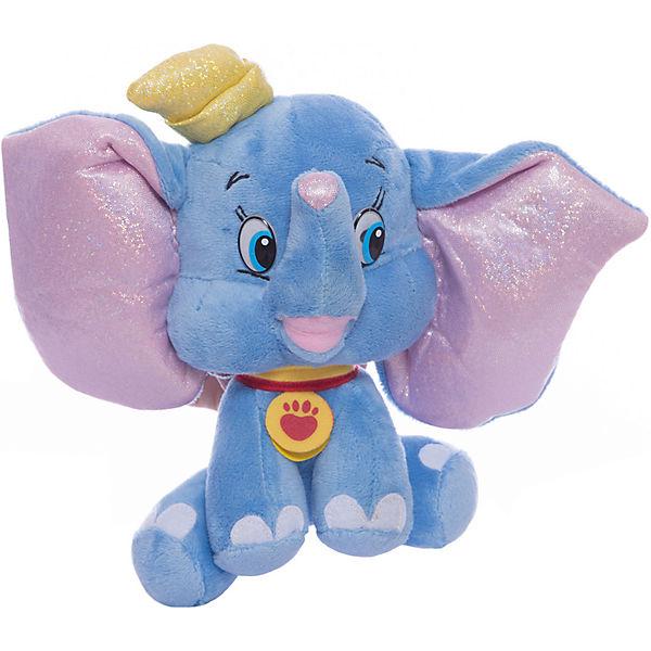 Мягкая игрушка Дамбо, 16 см, со звуком, МУЛЬТИ-ПУЛЬТИ