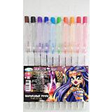 """Цветные шариковые ручки """"Monster High"""" 10 цветов"""