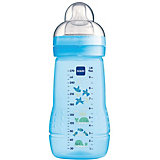 Weithals Flasche Easy Active Baby Bottle, PP, 270 ml, Silikonsauger, Junge