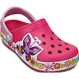 Сабо Kids' Crocband Butterfly Clog для девочки Crocs