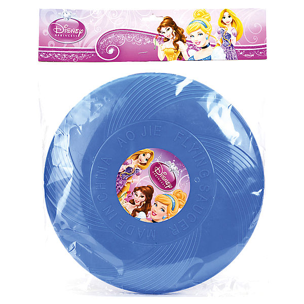 Летающая тарелка с вертушкой, 25 см, Disney Princess
