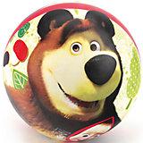 Мяч, 23 см, Маша и Медведь, Играем вместе