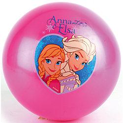 Мяч с наклейкой, 23 см, Холодное Сердце, Играем вместе