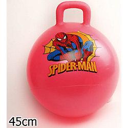 Мяч с ручкой, 45 см, Человек-Паук, Играем вместе