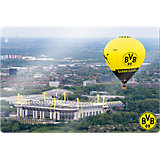 Wandbild BVB Signal Iduna Park Heißluftballon, Glas, 60 x 40 cm