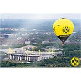 Wandbild BVB Signal Iduna Park Heißluftballon, Acryl, 150 x 100 cm