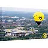 Leinwandbild BVB Signal Iduna Park Heißluftballon, 100 x 70 cm