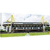 Leinwandbild BVB Signal Iduna Park bei Tag Panorama, 120 x 50 cm
