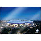 Wandbild FC Schalke 04 - Arena 02, Glas, 60 x 40 cm