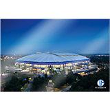 Wandbild FC Schalke 04 - Arena 02, Acrylglas, 120 x 75 cm