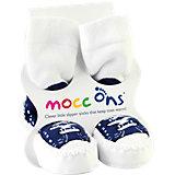 Mocc Ons Sneaker, Hüttenschuhe, navy