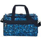 Sporttasche M Geometric Blue