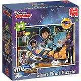 Großes Bodenpuzzle 50 Teile - Miles von Morgen