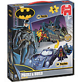 Puzzle & Build - 64 Teile - DC Batman