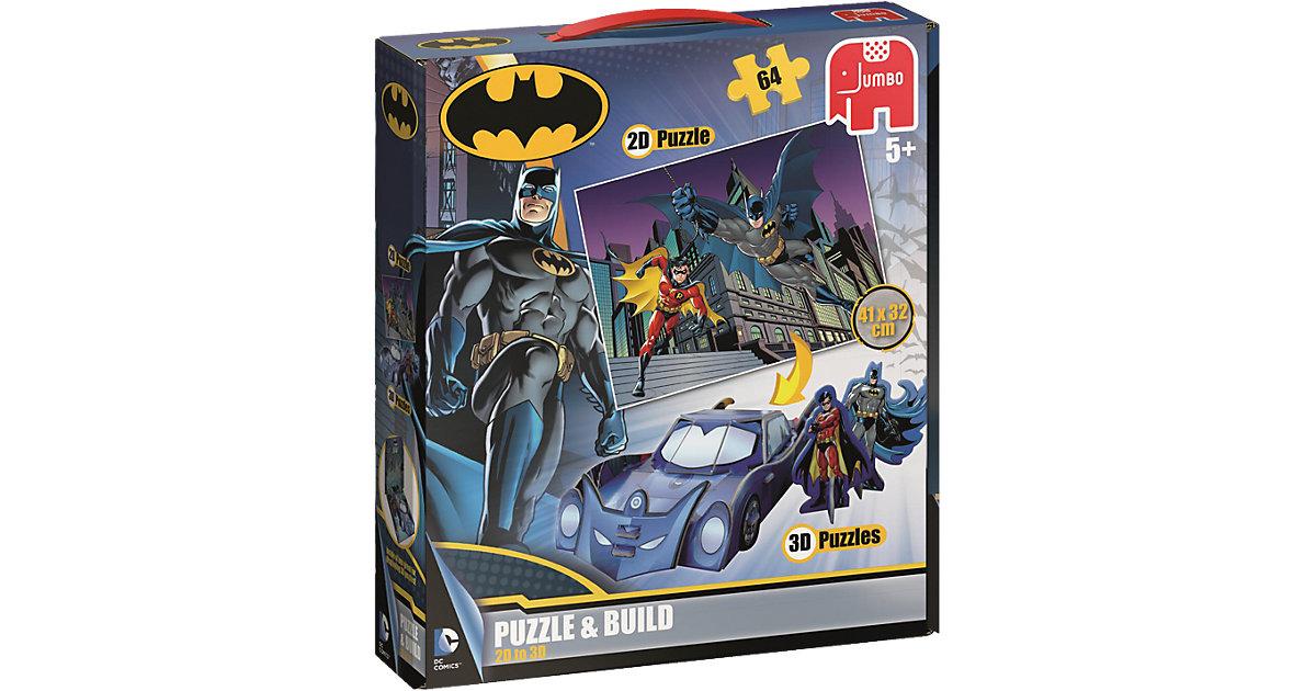 Puzzle & Build - 64 Teile - DC Batman