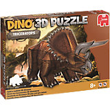 3D Dinosaurier Puzzle - 41 Teile - Triceratops