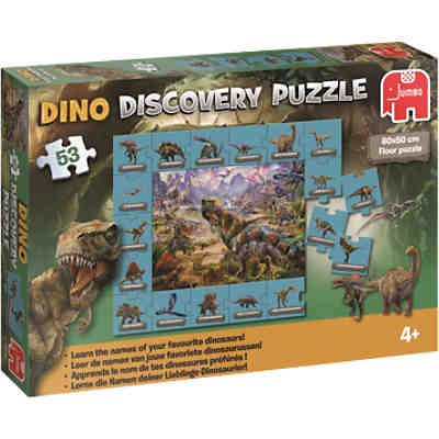 Dinosaurier Discovery Puzzle - 53 Teile