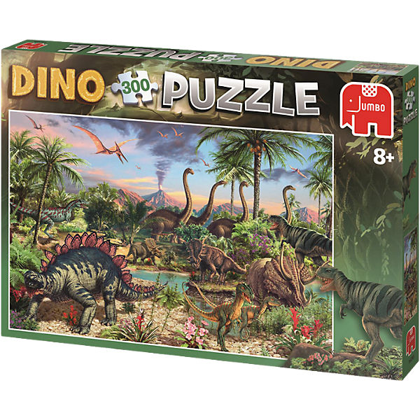 Dinosaurier Puzzle - 300 Teile