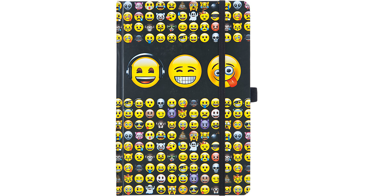 Notizbuch A5 Emoji
