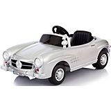Электромобиль Mercedes, серебристый металлик, Jetem