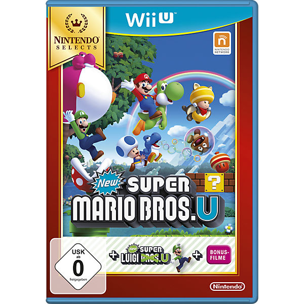 Wii U New Super Mario Bros U+New Super Luigi U (Selects)