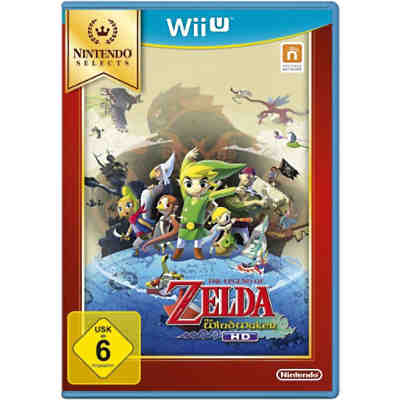 Wii U The Legend of Zelda: The Wind Waker HD (Selects)