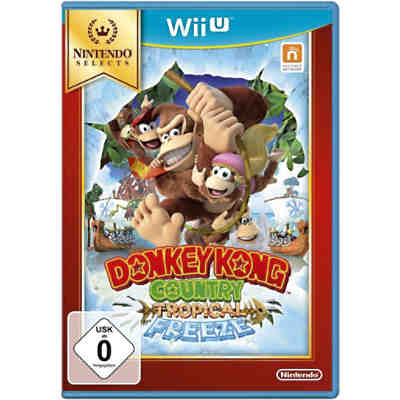 Wii U Donkey Kong Tropical Freeze (Selects)