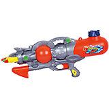 """Водный пистолет """"Морское сражение"""" (трёхствольный), 46 см, Bebelot"""