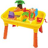 """Стол для игр с песком и водой """"Джунгли"""", с аксессуарами, Hualian Toys"""