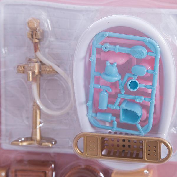 Набор мебели для ванной, с аксессурами, Счастливые друзья, ABtoys