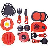 Набор посуды для кухни с продуктами №2, 14 предм., Помогаю маме, ABtoys