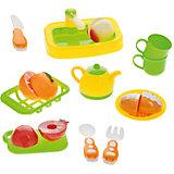 Набор посуды для кухни с продуктами, 18 предм., Помогаю маме, ABtoys