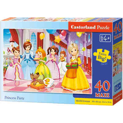 Puzzle Prinzessinnen Party 40 Teile