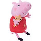 Пеппа с игрушкой, 30 см, со звуком, Свинка Пеппа