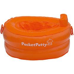 Надувной дорожный горшок PocketPotty со сменными пакетами