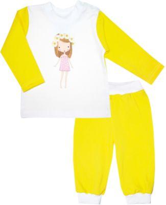 Пижама для девочки KotMarKot - желтый