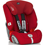 Автокресло EVOLVA PLUS, 9-36 кг., Britax Romer, Flame Red