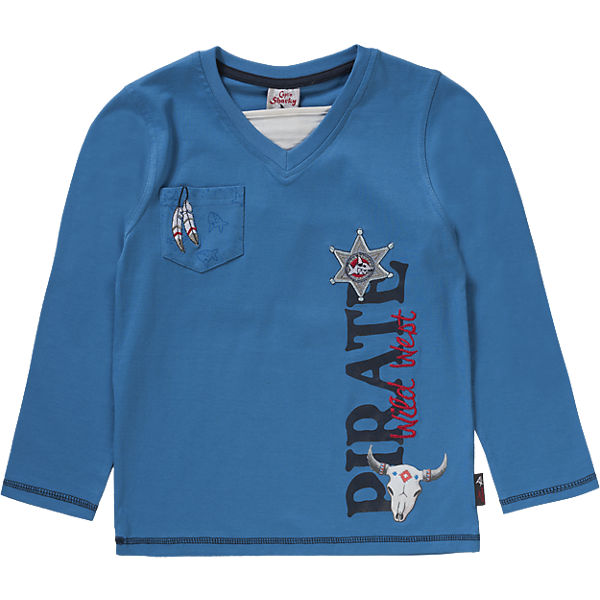 CAPT´N SHARKY BY SALT AND PEPPER Langarmshirt für Jungen