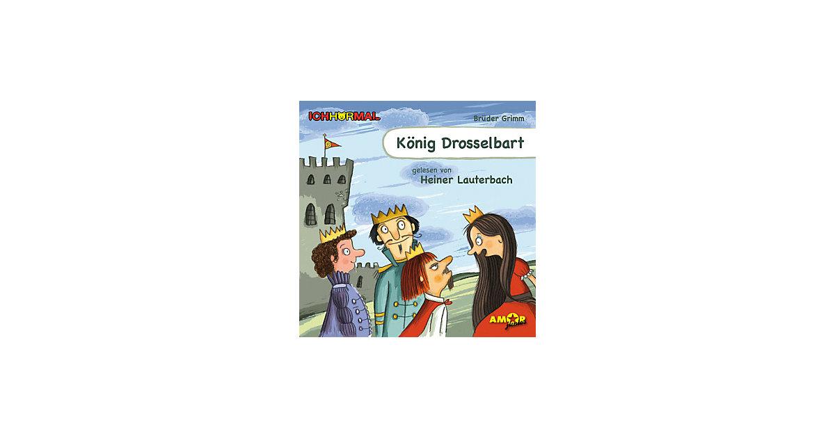 König Drosselbart, 1 Audio-CD Hörbuch