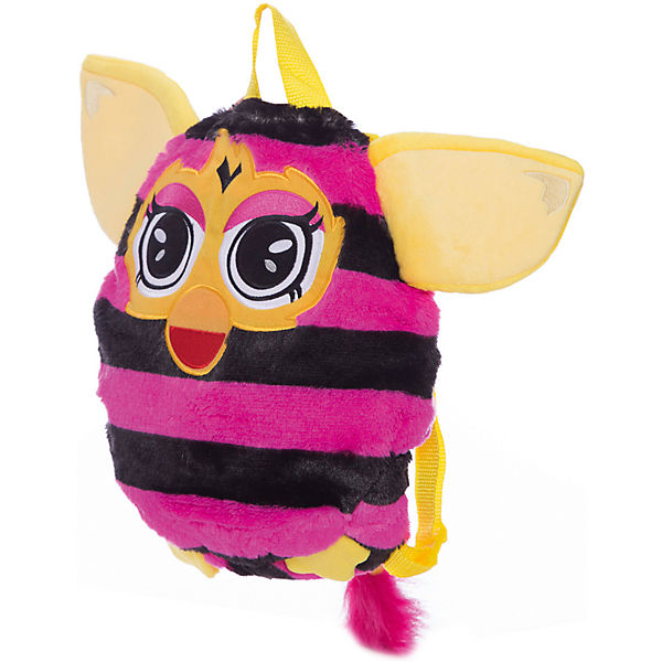 Furby рюкзак 35 см, в полоску, 1Toy