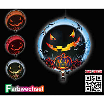 LED-Folienballon Halloween