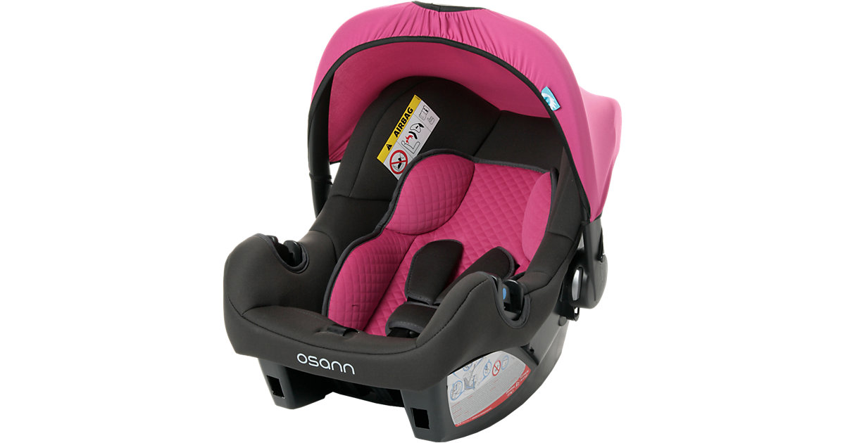 Babyschale BeOne SP deluxe, Quilt Framboise, 2016 pink Gr. 0-13 kg