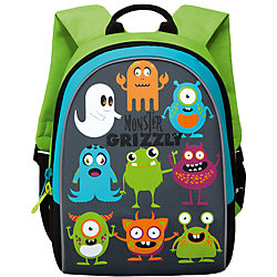 """Школьный рюкзак """"Monster Grizzly"""", серый"""