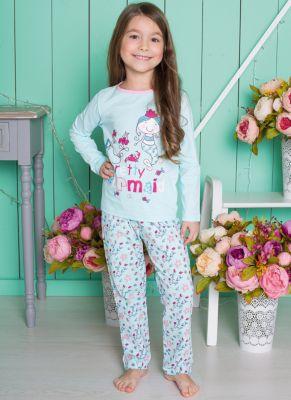 Пижама для девочки Sweet Berry - мятный