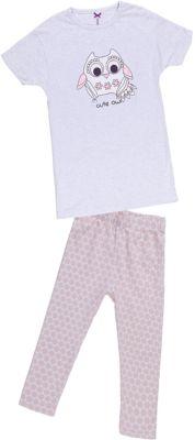 Комплект для девочки: футболка и леггинсы Sweet Berry - розовый